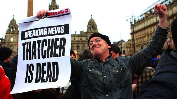 Thatcher dead 2